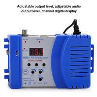Digital RF HDMI Modulator AV to RF Converter VHF UHF PAL Standard Modulator