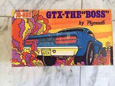 RARE 1/25 JO-HAN 1970 PLYMOUTH GTX ANNUAL STOCK-CUSTOM-Drag