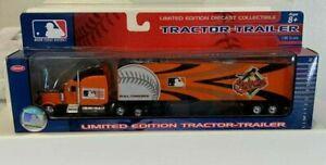 2006 MLB Upper Deck Baltimore Orioles Tractor Trailer MACHADO ABC BALL BOYS