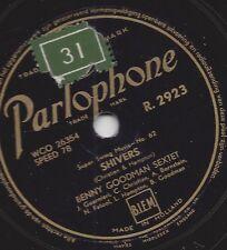 Swing musica serie Benny Goodman Sextet; Shivers + SEVEN Come Eleven