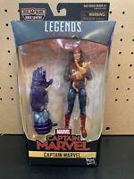 "Hasbro Marvel Legends Series Captain Marvel in Bomber Jacket 6"" Action Figure"