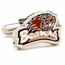 Oregon State University Beavers NCAA licensed CUFFLINKS New in Gift Box 50% off!