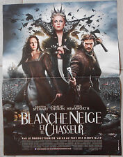Affiche BLANCHE NEIGE ET LE CHASSEUR Snow White and the huntsman 40x60cm