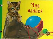 Mes Amies Bilderbuch auf Französisch! Querformat Metallringheftung Nostalgie!