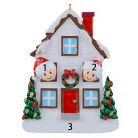 Maxora Personalized Ornament Christmas House Of 2 3 4 5 Christmas Gift 2019