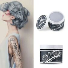UNISEX  Superhold Hair Wax 8 Color Long Lasting Cream Hair Gel Strong Hold Pro*