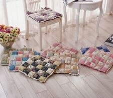 patchwork Home soft Square Cotton Seat Cushion Buttocks Chair Cushion Pads SP8