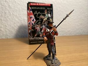 King & Country   NA131 Coldstream Guard Sergeant with Pike   Napoleon. Kriege