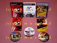 3x ps2 _ GRAN TURISMO 3 A-SPEC & gran turismo 4 & DRIV 3r 3 _ OTTIME CONDIZIONI