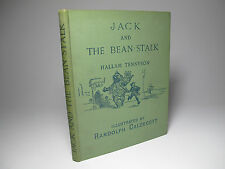 1886 'JACK & THE BEAN-STALK' TENNYSON & CALDECOTT FAIRY TALE CLASSIC 1ST ED