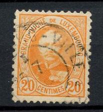 Luxembourg 1891 SG#128b 20c Orange P11.5x11 Used #A65295