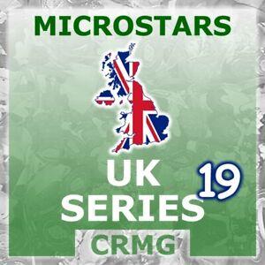 CRMG Corinthian MicroStars UK SERIES 19 WORLD CUP 2010 STARS (like SoccerStarz)