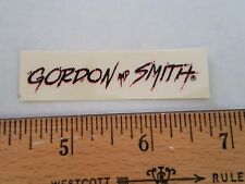 VTG 70's G&S G S GORDON & SMITH CUSTOM PRO MODEL RAD NOS SKATEBOARD DECK STICKER