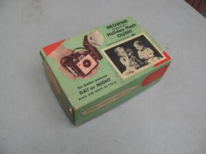 Vintage Kodak Brownie Camera Holiday Flash Outfit w/Original Box circa 1964