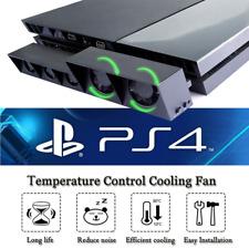 PS4 Turbo 5 Cooling Fan External USB Cooler with Auto Temperature Sensor Control