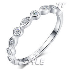 Women's Sterling Silver Wedding & Anniversary Bands