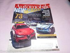 Automobile Magazine September 2016 Aston Martin BMW Concept Lamborghini Volvo