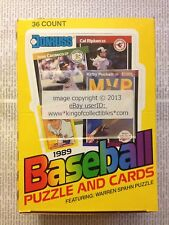 1989 Donruss BASEBALL 36 Count Pack WAX BOX from SEALED CASE Possible GRIFFEY RC