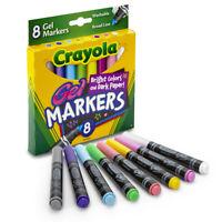 Crayola Washable Gel Markers, 8 Count