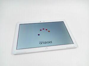 """Tablet Bq Aquaris M10 16 Gb 2 Gb Ram 10,1"""" FHD Wi-Fi Blanco Android MARCAS RETRO"""