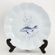 A. Giraud Limoges France, Fischdekor , Platzteller / Teller Nr6