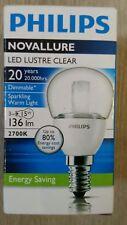 Ampoule Philips LED LUSTRE CLEAR NOVALLURE E14
