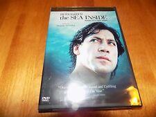 THE SEA INSIDE Javier Bardem Alejandro Amenábar OSCAR & G. GLOBE WINNER DVD NEW
