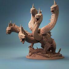 Hydra Miniature   D&D DnD   Wargame  Pathfinder   RPG