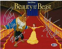 PAIGE O'HARA ROBBY BENSON SIGNED 8X10 PHOTO BEAUTY AND THE BEAST AUTO BAS COA *A