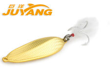 Racing Boat Evolutional Hook Metal Lures Bait Carp Fishing VIB Shock Bionic Gold 20g