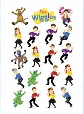 1x The Wiggles NEW Temporary TATTOO Sheet. Party Supplies Lolly Loot BAG Bunting