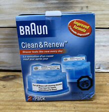 Braun Shaver CCR-2 Clean and Renew Refill Cartridges - 2 Pcs