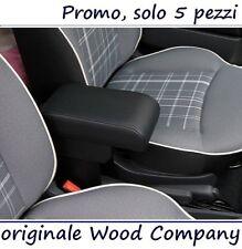 BRACCIOLO per FIAT 500 REGOLABILE nero VENDITORE PROFESSIONALE mittelarmlehne