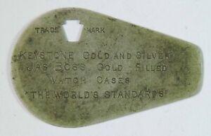 Vintage / Antique Keystone Watch Co. George Stark Jeweler Watch Case Opener