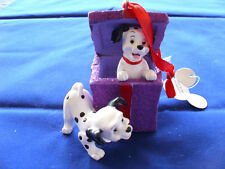 Disney * DALMATIAN PUPPIES * New Resin Holiday Ornament
