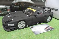 FERRARI 575 GTC EVOLUZIONE 2005 noir mat au 1/18 KYOSHO 08392A voiture miniature