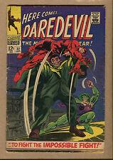 Daredevil #32 - The Impossible Fight! - 1967 (Grade 4.0/4.5) WH