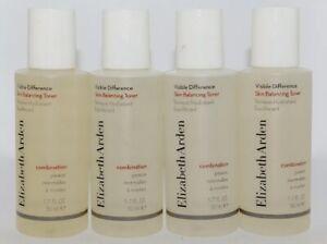 4X Elizabeth Arden Visible Difference Skin Balancing Toner 1oz Each Pack of 4