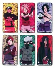 Shonen Jump Naruto Shippuden Anime Official Licensed Product Magnet Set of 6 pcs