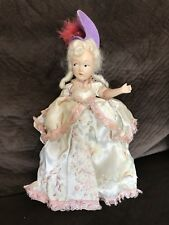 Antique Victorian Era Composition Doll Hand Painted Face Original Clothing