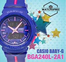 Casio Baby New BGA-240 For Running Line Series Watch BGA240L-2A1 AU FAST & FREE