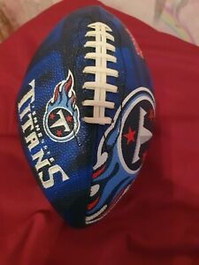 Nfl american junior football. Tennasee titans. Never been used. Mint condition