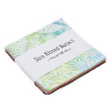 "Moda Charm pack Sun Kissed Batiks 42 - 5"" cotton batik squares 4347PP"