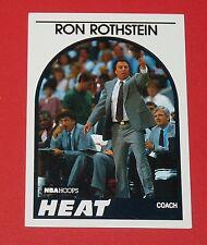 # 172 RON ROTHSTEIN MIAMI HEAT 1989 NBA HOOPS BASKETBALL CARD