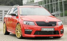 Rieger front spoiler labbro per SKODA OCTAVIA RS 5e Limousine/Combi