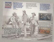 2013 #4787-4788 The Civil War:1863 pane of 12 Mint NH