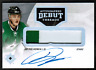 2016-17 Ultimate Collection Debut Threads Julius Honka Rookie Patch Auto #/99