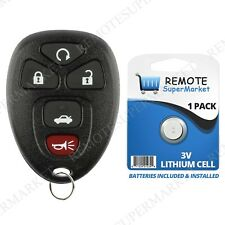 Replacement for 2006-2013 Chevy Impala 06-07 Monte Carlo Remote Car Key Fob 5b