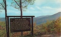 Postcard Blue Valley Vista, Clayton, GA