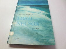 The True Story of Lord Nelson Naval Hero vintage 1965 Children's Press hardcover